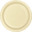 Ivory Paper Dessert Plates