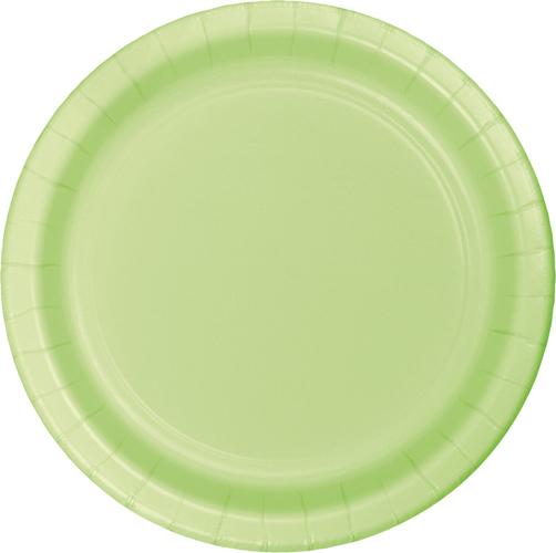 Pistachio Paper Dessert Plates