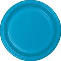 Turquoise Paper Dessert Plates