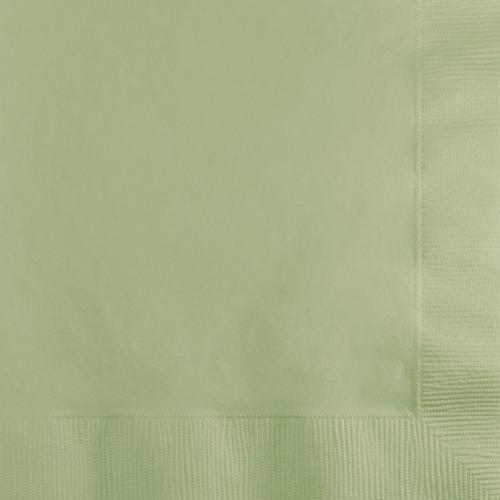 Sage Green Beverage Napkins - 600 Count