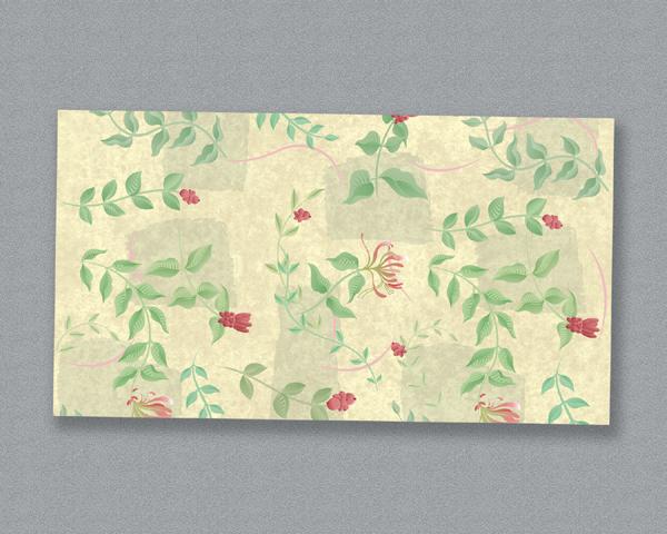 Linen Like Paper Table Runners - English Garden