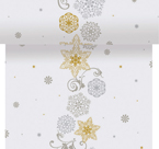 Crystal Snowflake Dunicel Table Runner