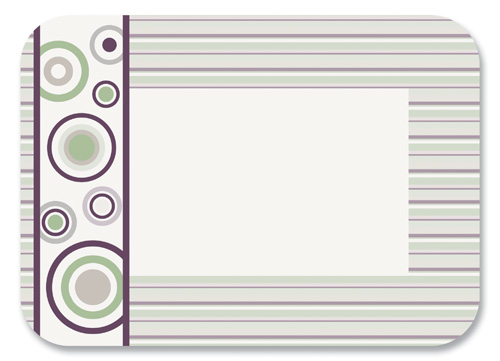 Jazzy Paper Tray Mats - 13 5/8 x 18 3/4 Inches