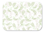 Nature's Green Recycled Paper Tray Mats - 13 5/8 x 18 3/4