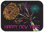 Happy New Year Paper Traymats