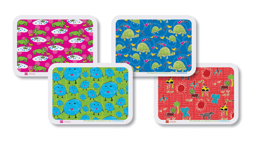 Artful Animals Paper Tray Mats - Multipack