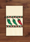 Chili Peppers Paper Dinner Napkins