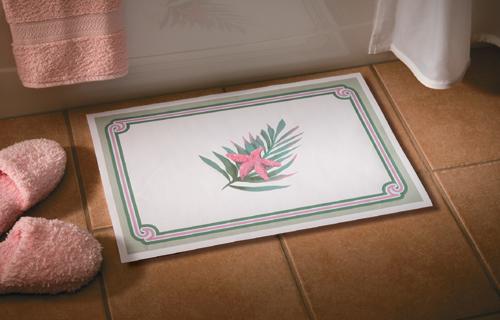 Sea Breeze Paper Spa Bath Mats