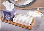 Paper Guest  Hand Towels - Linen Like Regal