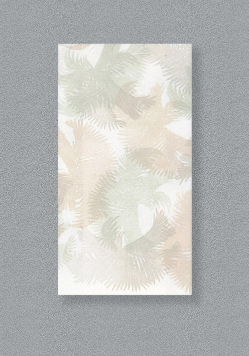 Linen Like Paper Guest Hand Towels - Swaying Palms