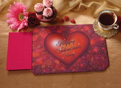 Valentine's Day Paper Placemats & Napkins Pack