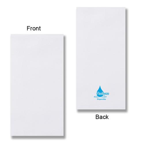 Flusheeze™ Dispersible Guest Hand Towels