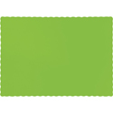Lime Green Paper Placemats - 600 Count