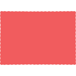 Coral Paper Placemats - 600 Count