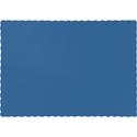 True Blue Paper Placemats - 600 Count