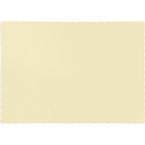 Ivory Paper Placemats - 600 Count