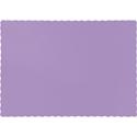 Lavender Paper Placemats - 600 Count