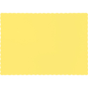 Mimosa Yellow Paper Placemats - 600 Count