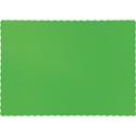 Citrus Green Paper Placemats - 600 Count