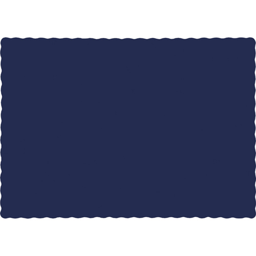 Navy Blue Paper Placemats - 600 Count