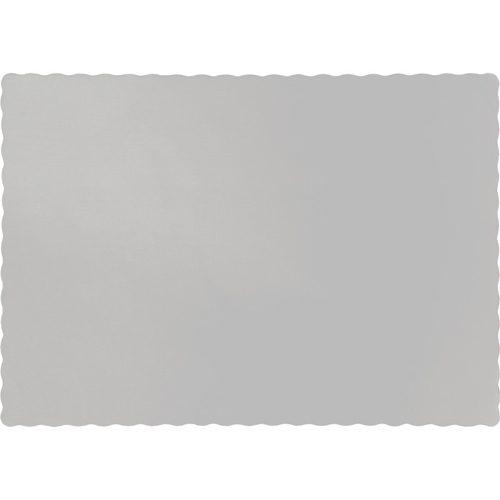 Silver Paper Placemats - 600 Count