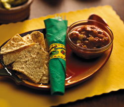 Mexican Fiesta Paper Napkin Bands - 4.25 Inch