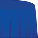Cobalt Round Paper Tablecloths