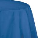 True Blue Round Paper Tablecloths