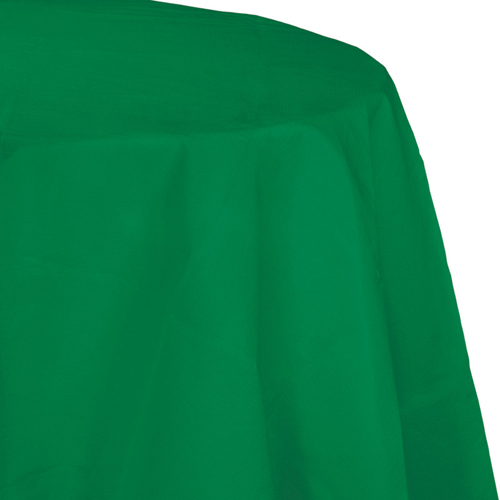 Emerald Green Octy-Round Paper Table Covers