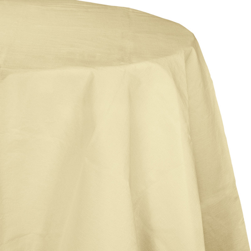 Ivory Octy-Round Paper Table Covers