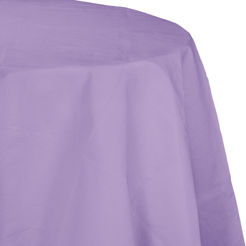 Lavender Octy-Round Paper Table Covers