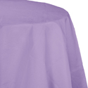 Lavender Round Paper Tablecloths