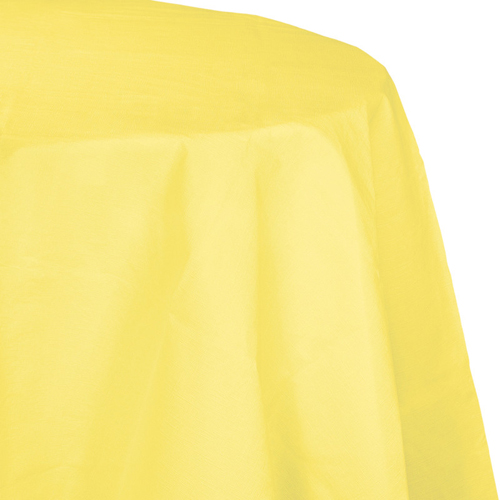Mimosa Yellow Octy-Round Paper Table Covers