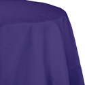 Purple Round Paper Tablecloths