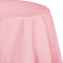 Pink Octy-Round Paper Table Covers
