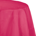Magenta Round Paper Tablecloths