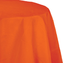 Sunkissed Orange Octy-Round Paper Table Covers