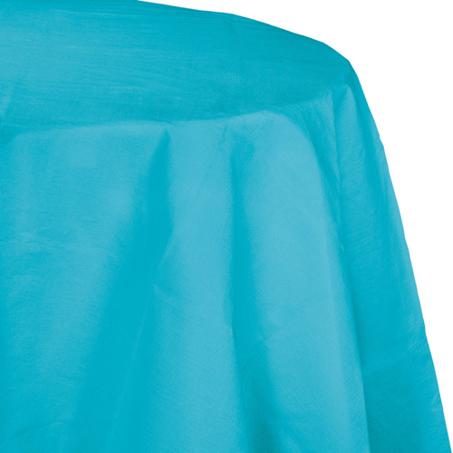 Bermuda Blue Paper Octy-Round Table Covers