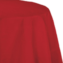Classic Red Octy-Round Paper Table Covers