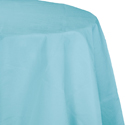 Pastel Blue Octy-Round Paper Table Covers