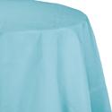 Pastel Blue Round Paper Tablecloths