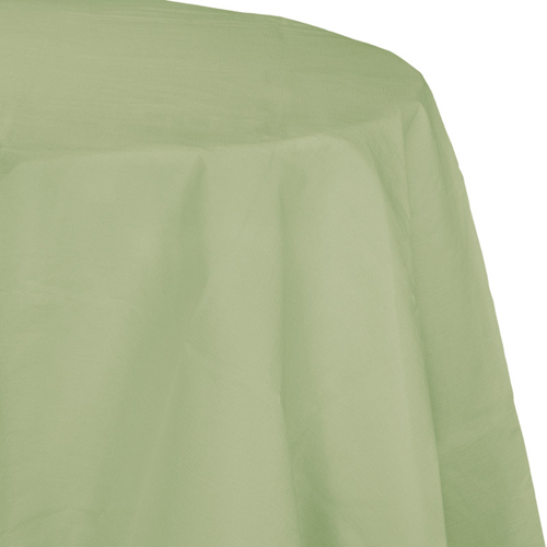 Sage Green Octy-Round Paper Table Covers