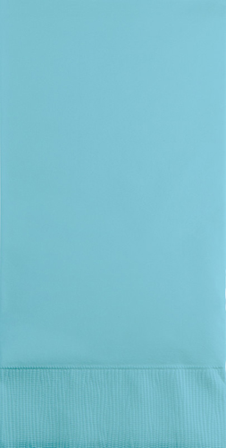 Pastel Blue Paper Guest Hand Towels