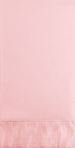 Classic Pink Paper Guest Hand Towels