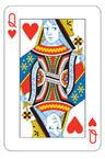Card Night Queen Cutouts
