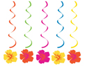 Tropical Stripes Dizzy Danglers