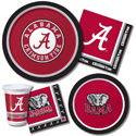 University of Alabama Party Supplies