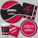 University of Arkansas Party Supplies