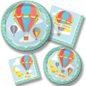 Balloon Ride Baby Shower Party Supplies