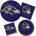 Baltimore Ravens NFL Party Supplies